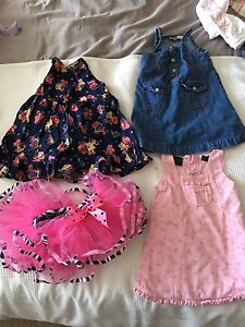 Girls size 18m-2T 29 items
