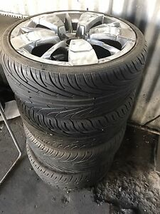 15 inch rims and tyres Granville Parramatta Area Preview