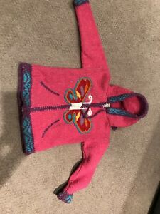 Girls wool sweater