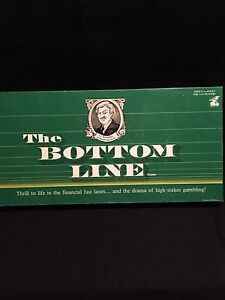 EUC The Bottom Line game-please check my other ads