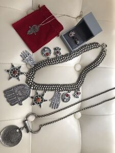 Silver hand made jewelry