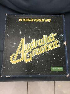 Australia's Greatest 8x LP Set Thuringowa Central Townsville Surrounds Preview