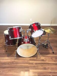 Red Baron Drumset with