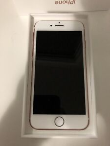 iPhone 7 Rose Gold 32GB perfect Condition