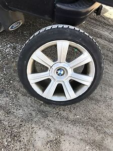 BMW e46 rims with tires