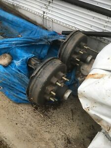 New 6000 lbs Trailer Axles