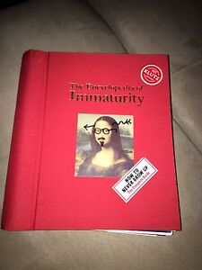 The book of immaturity
