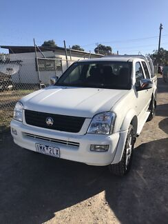 Holden Rodeo Twin Cab Ute