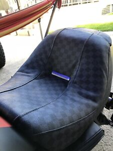 Louis vuitton custom vrod seat