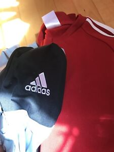 Small Adidas training gear