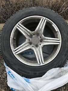 Aftermarket Mercedes AMG Rims & Toyo Tires - 235/60R17