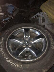 "20"" chrome dodge wheels"