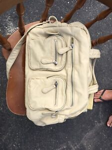 OiOi carry all diaper bag in almond