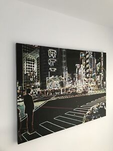 """Time square (New York) canvas picture 55""""-70"""""""