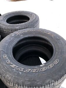 265/70/17 Goodyear tires
