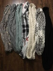 EEUC 7 Women's Fashion Scarves. 2 Bonus scarves to be included.