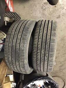 225/45/18 Michelin tires.