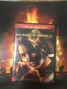 Hunger  games DVD