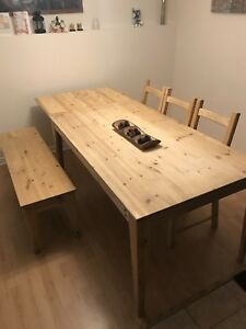 Solid Wooden Table