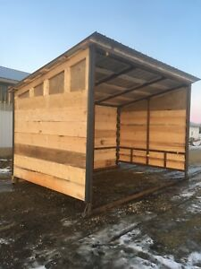 Calf shelters / horse shelters