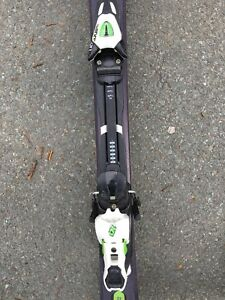 Salomon downhill skis