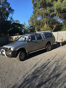 2004 Mitsubishi Triton Dual Cab Coningham Kingborough Area Preview