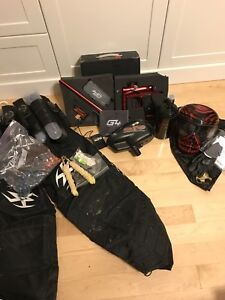 Dp G4 paintball marker and gear for sale