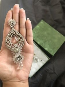Silver Earrings Set for any Indian/Pakistani Outfit
