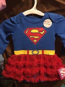 BNWT supergirl costume. Georgetown/Mississauga/Toronto