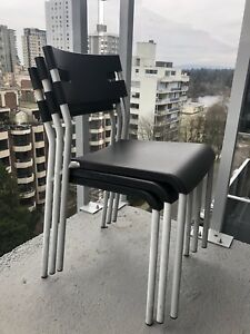 Balcony/garden/patio chairs (3 pcs)
