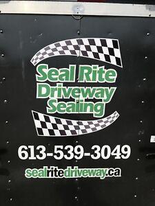 SEAL RITE DRIVEWAY SEALING