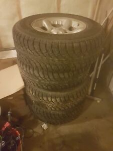 265/70R17 winter tires and rims