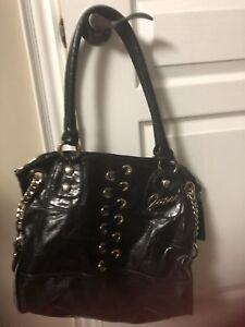 Large leather bag