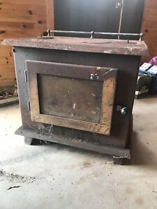 Wood stove - Canmoor top load