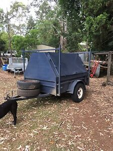 7x5 builders trailer with all the gear Maleny Caloundra Area Preview
