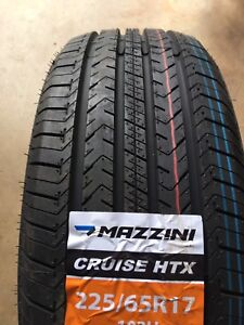 225/65/17 new all season tires clearance