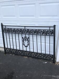 Very Ornate Iron fence and railings