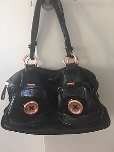 Mimco Button Bag Large Rose Gold Hardware Brighton Holdfast Bay Preview