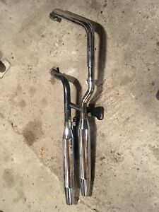Harley softail exhaust