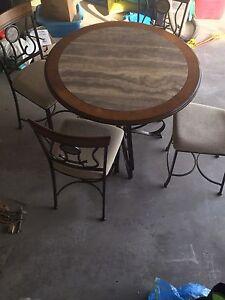 Gorgeous pub style table