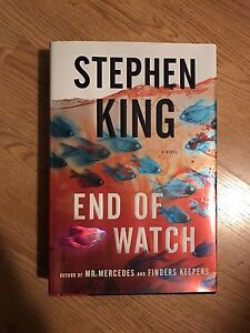 Stephen King - end of watch (hard cover novel)