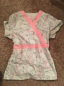 Small scrub shirts barely worn