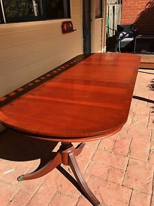 Reproduction antique mahogany table Williamstown Hobsons Bay Area Preview