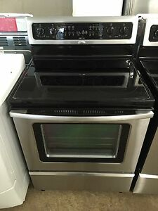 2 year old whirlpool convection oven stainless stove