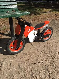 Kiddimoto balance bike  (the ebay pic is for reference only).