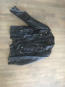 Veste cuir ZARA / Leather jacket ZARA