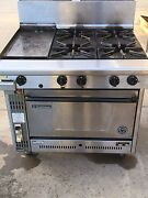 Goldstein 4 burner stove with hotplate Hallam Casey Area Preview