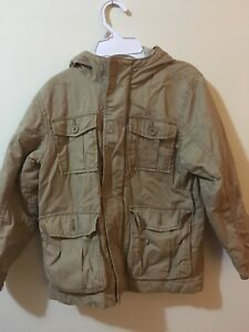 Boys Old Navy tan fall jacket size 6/7