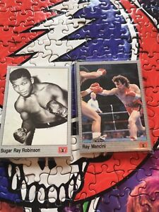 Boxing sports cards