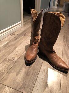 Mens Cowboy Boots Size 9EE
